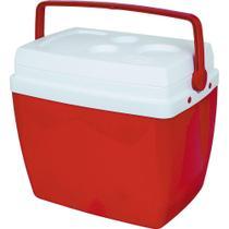 Caixa Termica C/ Suporte 26l Vermelha 25108172 - Mor -