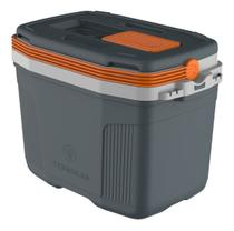 Caixa Térmica Cooler 32 Litros Suv Cinza Laranja - Termolar -