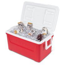 Caixa Térmica Cooler Igloo Laguna 48QT 45 Litros Capacidade Para 76 Latas Vermelho -