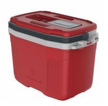 Caixa térmica cooler suv 32l vermelha termolar 32 l -