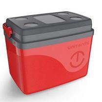 Caixa Térmica Floripa 7,5l Vermelha - Unitermi -
