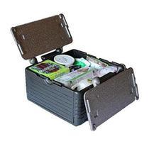 Caixa termica ice cooler quente e frio conservadora grande dobravel portatil para 45 latas 24 litros - Makeda