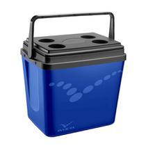 Caixa Térmica Invicta Pop 34 Litros Incess Blue 8734 -