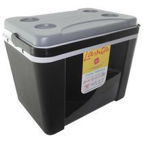 Caixa Térmica Lavita 34 Litros Preta com Alça -