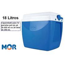 Caixa Térmica Mor 18 Litros Azul -