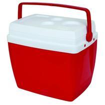 Caixa Térmica Mor, 34 Litros - Vermelha -