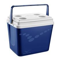 Caixa Térmica Pop 34 Litros Azul Royal 101387341807 Invicta -
