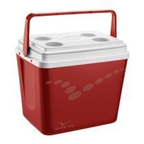Caixa Térmica Pop 34 Litros Vermelho 101387341808 Invicta -