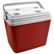 Caixa Térmica Pop 34 Litros Vermelho 101387441311 Invicta -