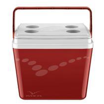 Caixa Térmica Pop 34L Vermelha Velve - Invicta