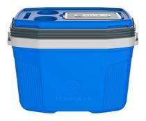 Caixa Térmica Suv 20 Litros Termolar Cooler C/ Alça Resiste AZUL C/ PRETO -