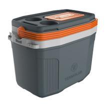 Caixa térmica suv 20l com suporte para smartphone termolar 3501 -