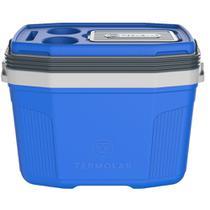 Caixa Térmica SUV 20L Termolar Azul com Cinza TERMOLAR-3501AZ -