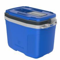 Caixa Térmica Suv 32 Litros Termolar Cooler C/ Alça Camping Pesca Praia Churrasco AZUL -