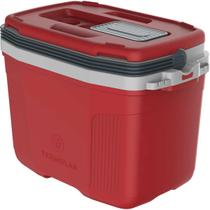 Caixa termica suv 32 litros vermelha unidade - Termolar