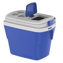 Caixa Térmica Tropical 28 Litros Azul Soprano -