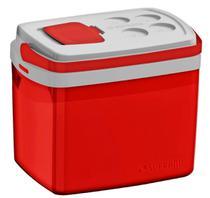 Caixa Térmica Tropical 32 Litros Soprano - Vermelha -