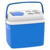 Caixa Térmica Tropical Azul 32 Litros Soprano -