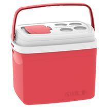 Caixa Térmica Tropical Vermelha 32 Litros Soprano -