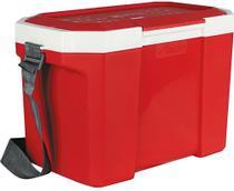 Caixa Térmica Vermelha Com Alça 24 litros Capacidade 35 Latas- Aladdin -