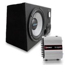 Caixa Trio Amplificada Dutada 490w Rms Driver + Ts400x4 - MULTI MARCAS