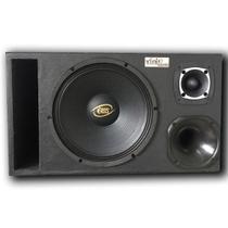 Caixa Trio Eros E-450LC Black 450WRMS 12 Pol + Driver + Tweeter - Vinisound