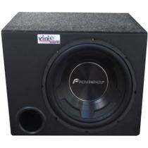 Caixa Trio Pioneer Subwoofer Pioneer Ts-W3090br 600Wrms 12 Pol - Vinisound