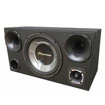 Caixa Trio Pioneer Ts-W3060br + 2 Drivers + 1 Tweeter - Vinisound +