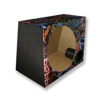 Caixa Vazia Dutada Som 12 Polegadas Duto 3 Pol 38 Litros - Extreme Box