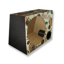 Caixa Vazia Dutada Som 12 Polegadas Duto 3 Pol Mdf 38 Litros - Extreme Box