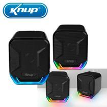 Caixas de Som PC Notebook Amplificada Led Original Premium - Super Sound