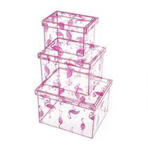 Caixas Flamingos - Ludi imaginarium