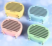 Caixinha Caixa de Som Bluetooth Vintage Retro Mini Speaker Sem Fio Recarregável Vitrola Rádio Antigo -