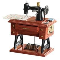 Caixinha de Musica Maquina de Costura Antiga Sartorius Model - Onyx -