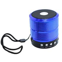 Caixinha De Som Bluetooth Mini Portátil Mp3 Fm Sd Usb - Grasep