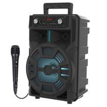Caixinha de Som Bluetooth Sumay ADVANCE - 60w Microfone fio -