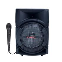 Caixinha de Som Bluetooth TRC 5522 - 220w RMS Microfone -