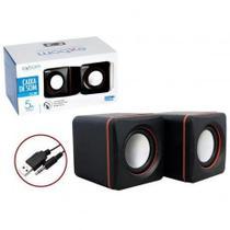 Caixinha de Som PC 2 Polegadas Speaker P2 - Xbom