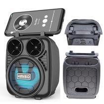 Caixinha De Som Portátil Bluetooth Fm Mp3 Cartão Sd Pendrive - Kimisi