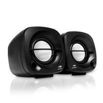 Caixinha De Som Speaker C3tech Sp-303bk Usb P2 Portátil Pc - preta -