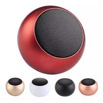 Caixinha Som Bluetooth Mini Metal Speaker Amplificada 3w - Mini Speaker