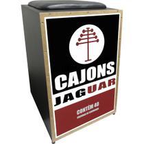 Cajon Acústico Inclinado Profissional K2 COR-006 Fósforo JAG - Jaguar