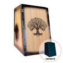Cajón/Carron Elétrico Especial Árvore Da Vida - Mundial
