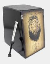 Cajon elétrico duplo som fm prof. leão de judah - Forte Música