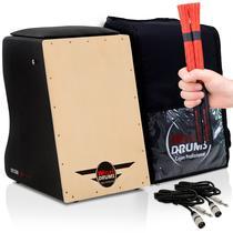 Cajón Elétrico Inclinado  Bag Case  04 Acessórios  Claro - Witler Drums
