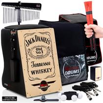 Cajón Elétrico Inclinado  Kit De Acessórios - Jack Daniels - Witler Drums