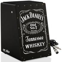 Cajón Elétrico WD Black  01 Cabo - Jack Daniel - Witler Drums