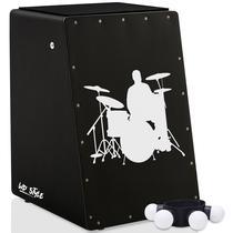 Cajón Elétrico WD Black  01 Canela Shaker - Baterista - Witler Drums