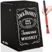 Cajón Elétrico Wd Black  01 Vassourinha - Jack Daniel - Witler Drums