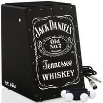 Cajón Elétrico WD Black  02 Acessórios - Jack Daniel - Witler Drums